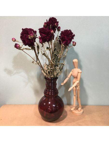 bouquet de pivoines rouges