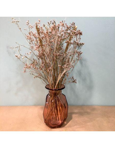 vase origami rose