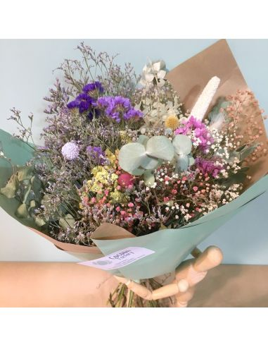 bouquet de fleurs séchées Camille